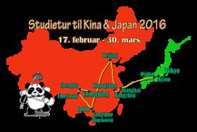 Studietur til Kina & Japan 2016