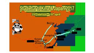 Studietur til Kina & Japan 2017