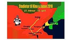 Studietur til Kina & Japan 2018