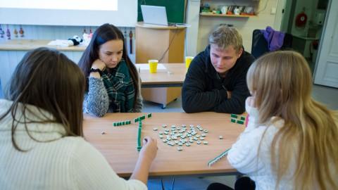 Dette er mahjong.