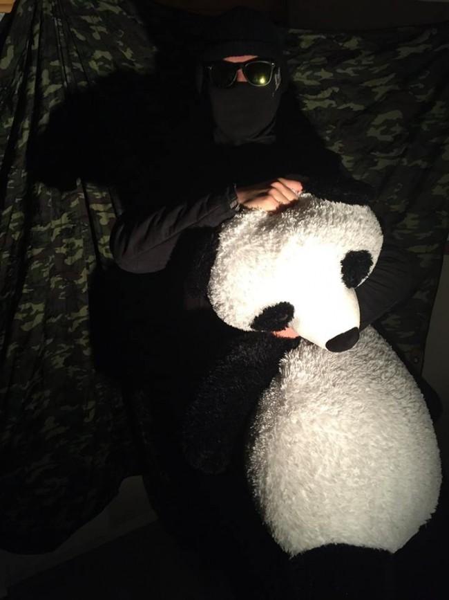R.I.P Kristian, vår stinkende panda.