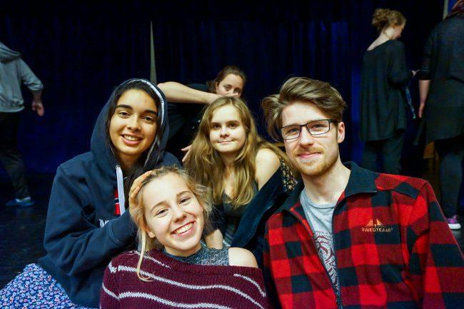 Amanda, Maiken, Marja og Joakim!<3