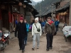 Vandring i Zhouxi-landsbyen
