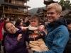 Nyål og kineisisk barn