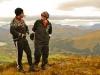 Steinar og Marius på vei til toppen