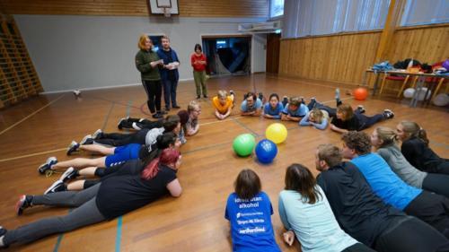 gymbilde-ballong